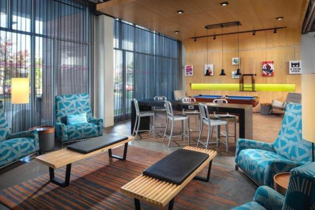 Интерьер Aloft BWI Baltimore Washington International Airport