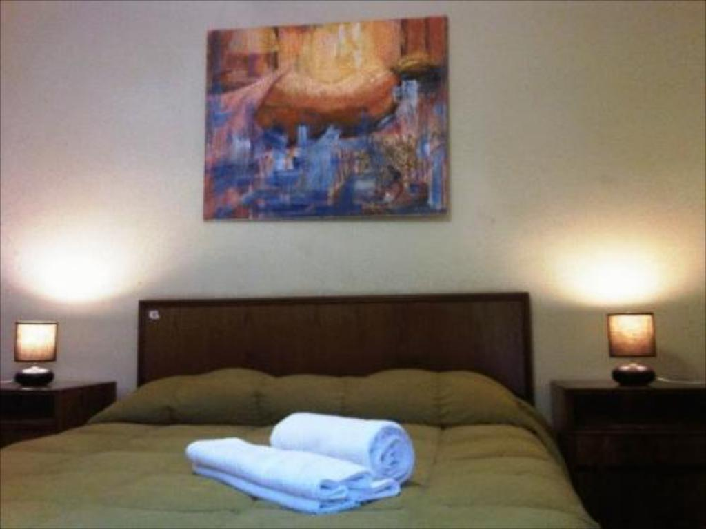 Double Room Chile Hostales Santiago