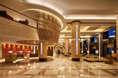 Lobby JW Marriott Hotel Chandigarh