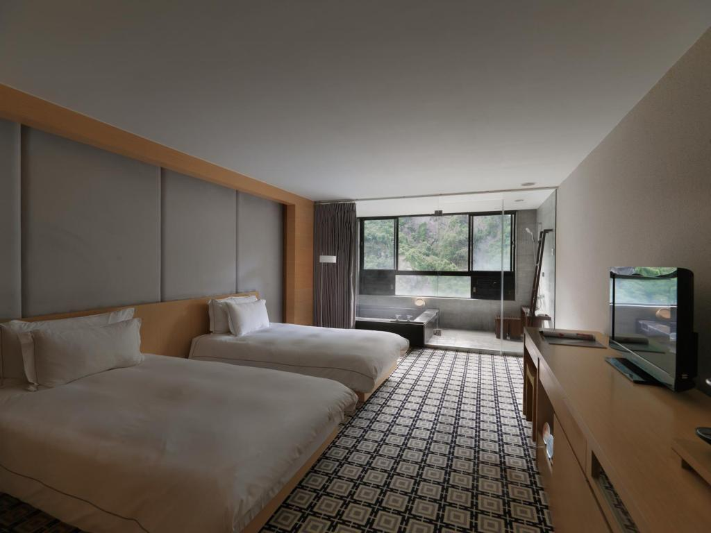 River View Deluxe Twin - Guestroom Pause Landis Resort Wulai