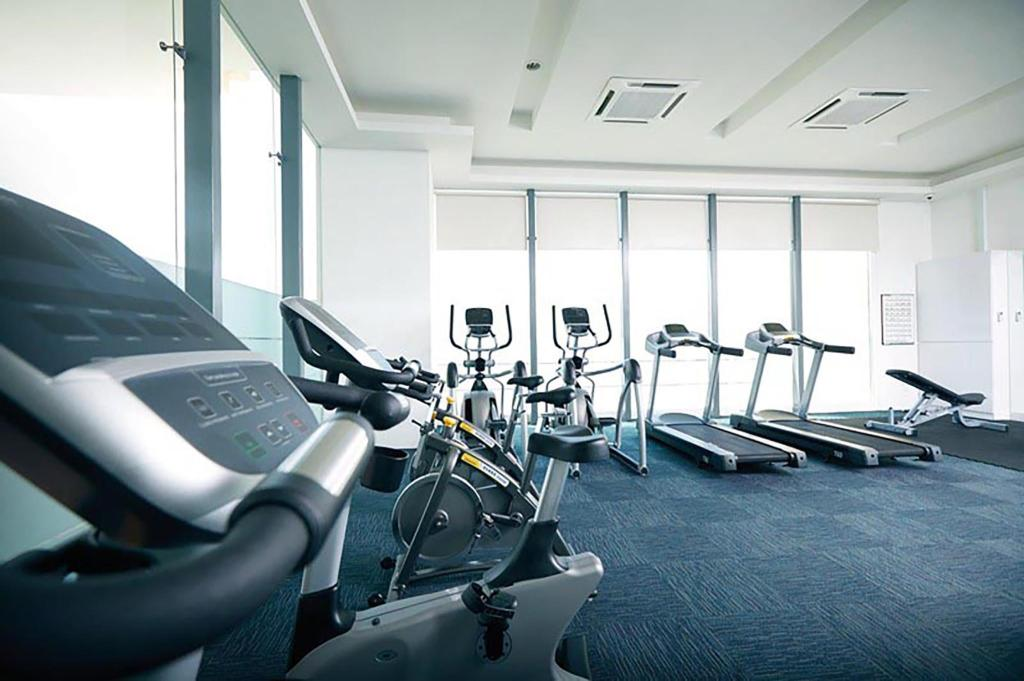 fitness centrum Camellia Apartment Royal Suite Near Mid Valley