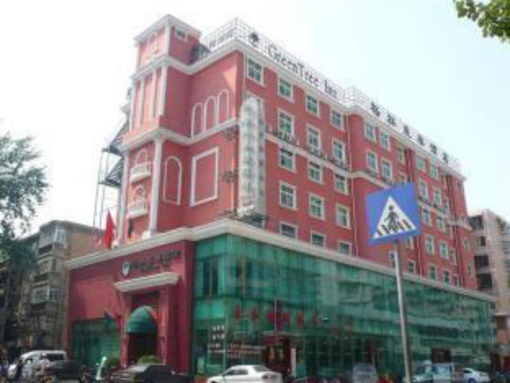Exterior view GreenTree Inn Luoyang Peony Square