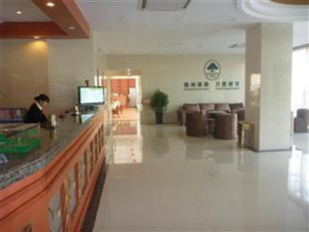 Vestíbul GreenTree Inn Hefei High-tech District Tianzhu Road Subway Station Hotel