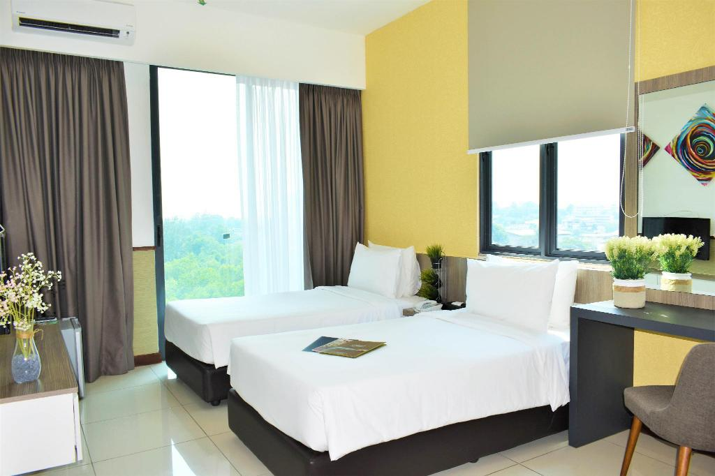 Superior Twin - Bedroom D'Wharf Hotel & Serviced Residence