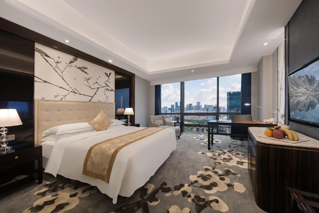 Executive King Room - Room plan Huaqiang Plaza Hotel