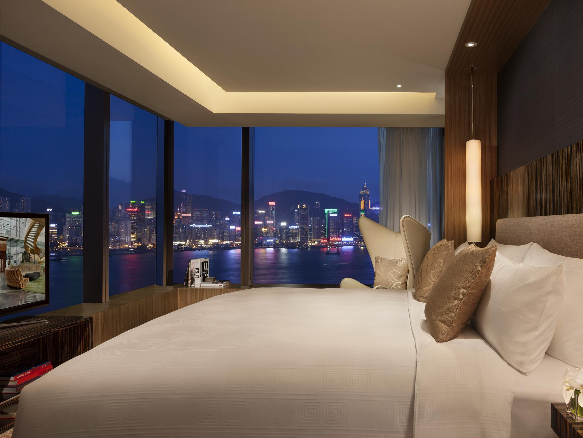 ICON Club 80 Suite numurs ar King izmēra gultu, ar ostas skatu (ICON Club 80 Harbour Suite with King Bed)