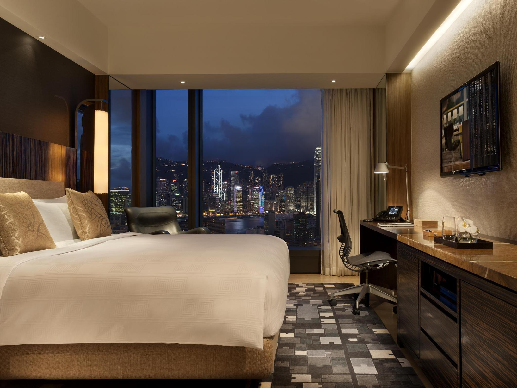 Habitación ICON Club 36 con cama extragrande y vistas al puerto (ICON Club 36 Harbour View with King Bed)