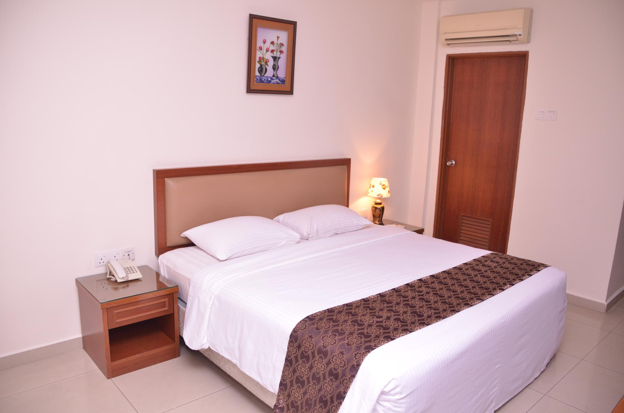 Deluxe Double   Bed Hotel Palm Inn Butterworth
