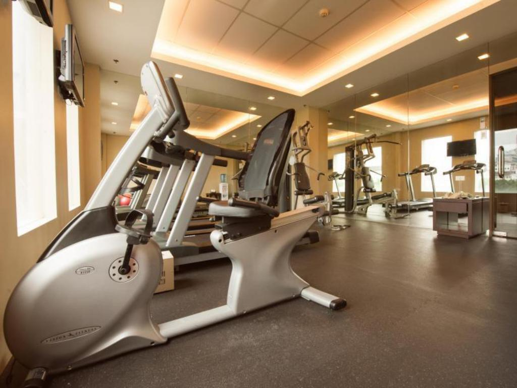 Fitness center Harolds Hotel