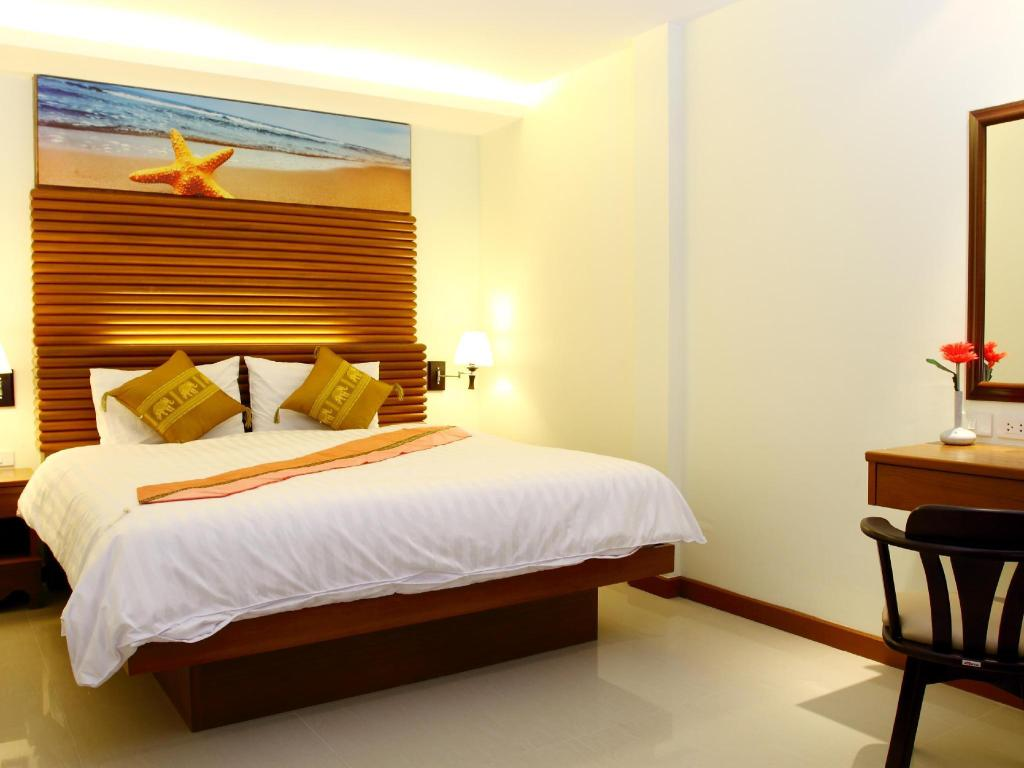 Standard - Bed Patong Terrace Boutique Hotel