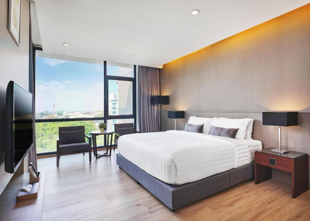 Deluxe Room with Kitchenette - Sovrum Altera Hotel and Residence