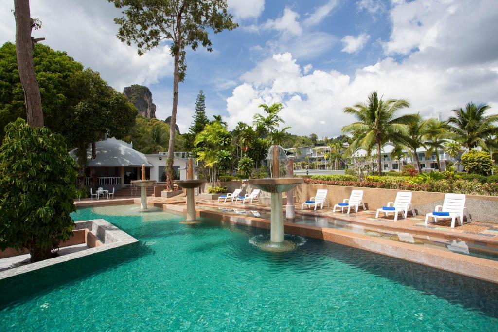 Swimming Pool Outdoor Arawan Krabi Beach Resort
