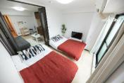 30-2LDK-Big Room at Dotonbori+Free WIFI for 10pax
