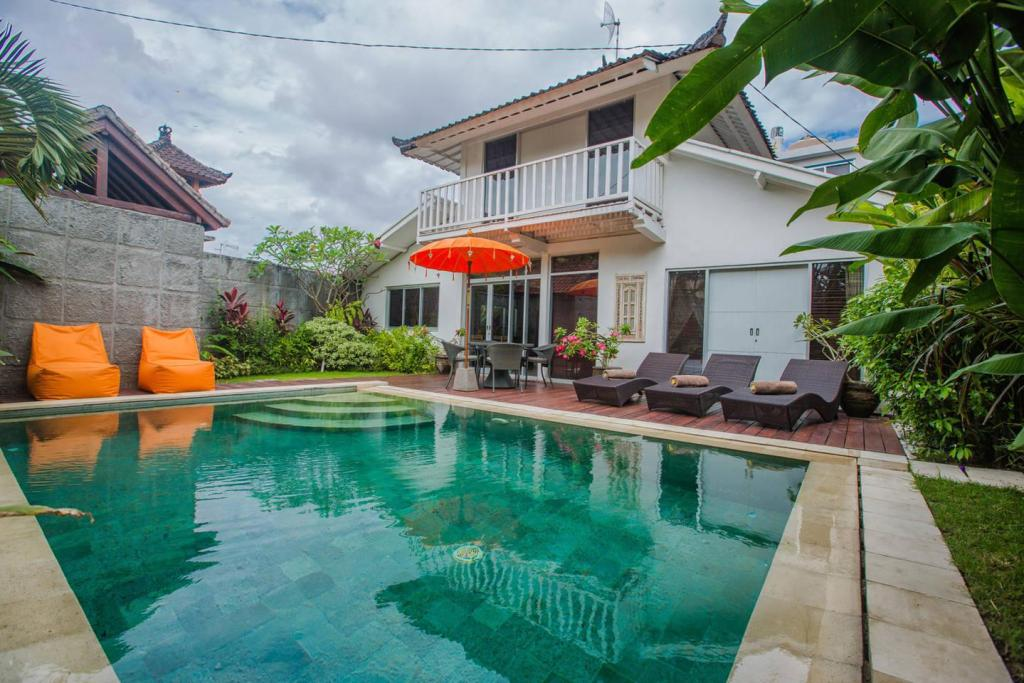 Utendørs svømmebasseng BaliJoanyvillas-villa Demen 3bedrooms private pool