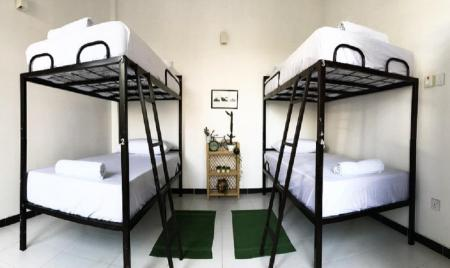 1 Person in 4-Bed Dormitory - Mixed Bed & Bicycle