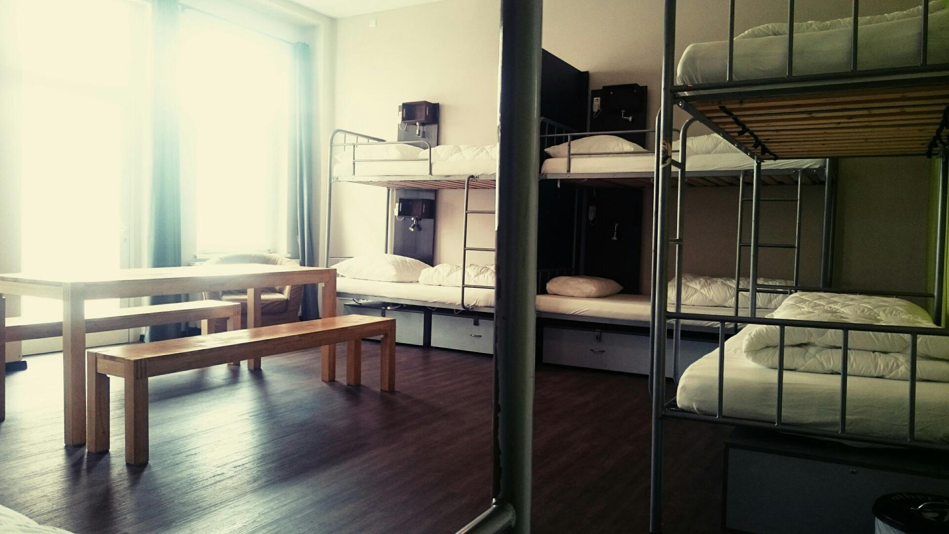 1 Person in 10-Bed Dormitory with Shared Bathroom - Mixed