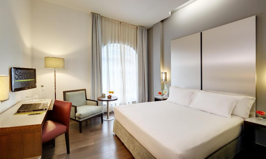 Standard Single Room - Bathroom Hotel Sercotel Coliseo