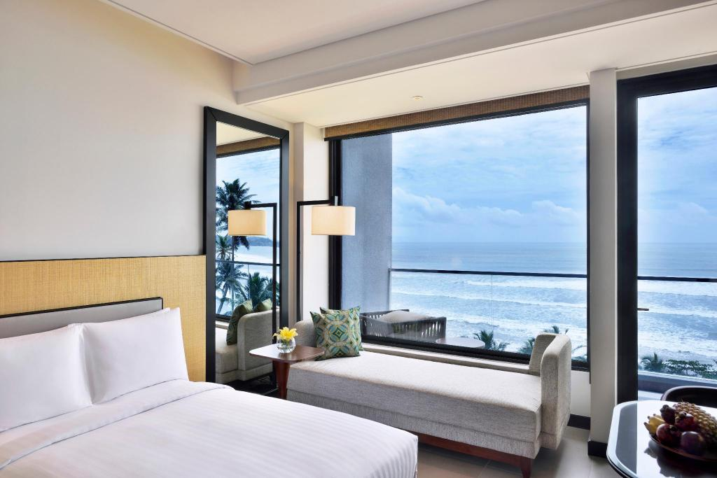 Superior Ocean View, Guest room, 1 King, Sofabed, Ocean view - Llit Weligama Bay Marriott Resort & Spa