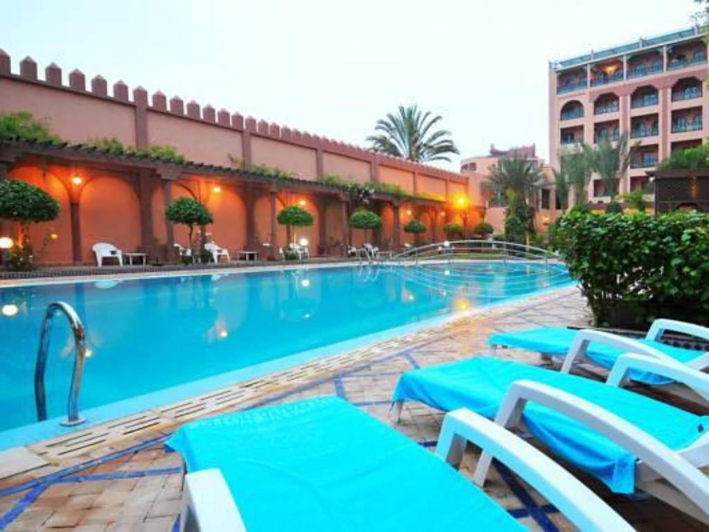 Swimming pool Diwane Hotel & Spa Marrakech