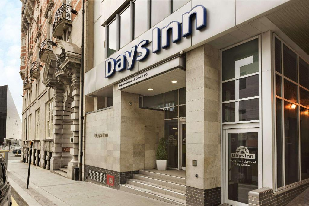 Utvendig Days Inn by Wyndham Liverpool City Centre