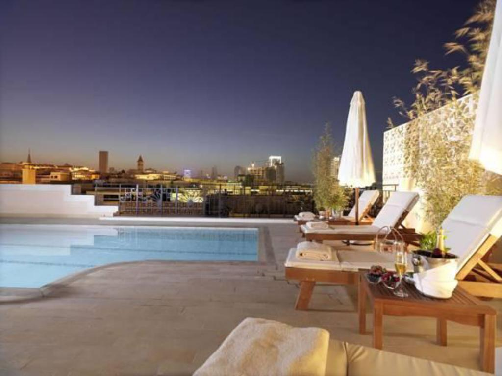 Бассейн  Le Patio Boutique Hotel Beirut Downtown