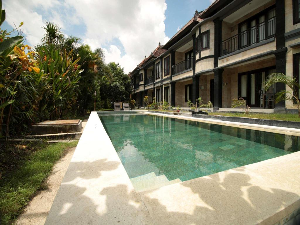 Bazén Bali Studio Apartment Unit 1