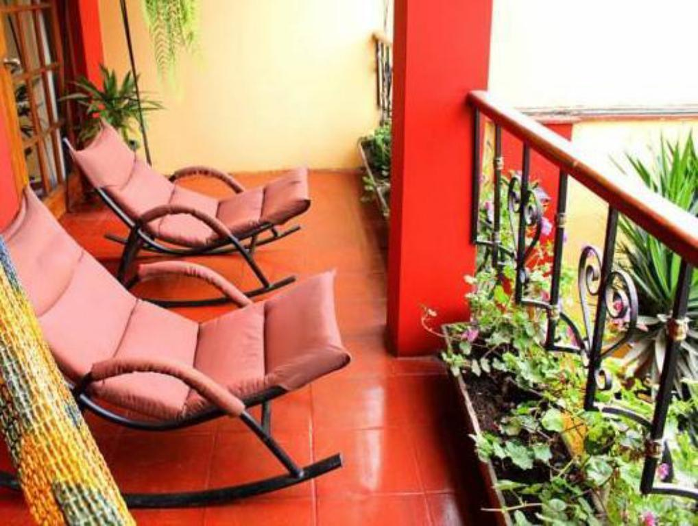 Balcony/terrace Peru Star Boutique Apartments Hotel