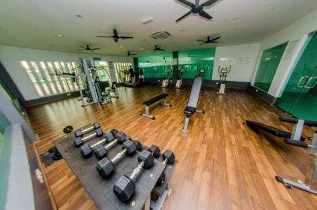 Fitness center D'carlton Resort