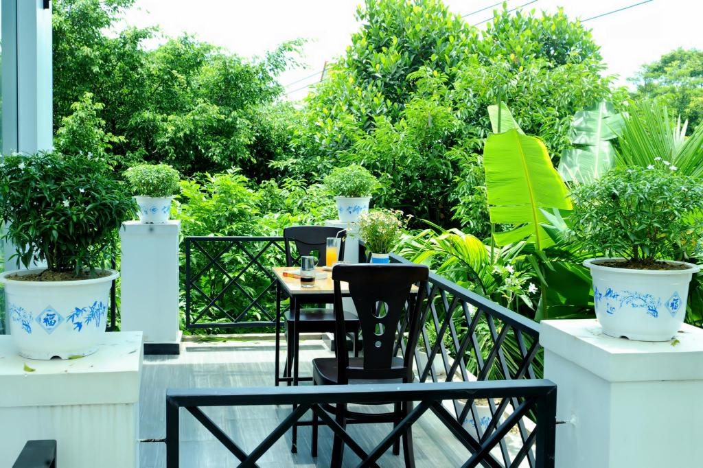 Balcony/terrace Ana Homestay