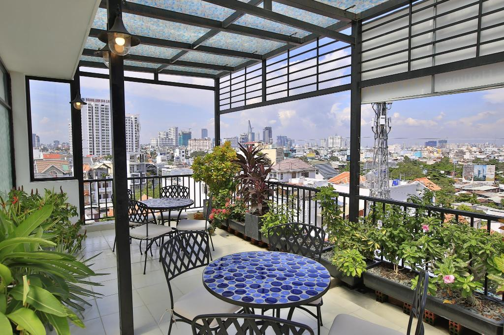 Balkon City House Donald Apartment 1