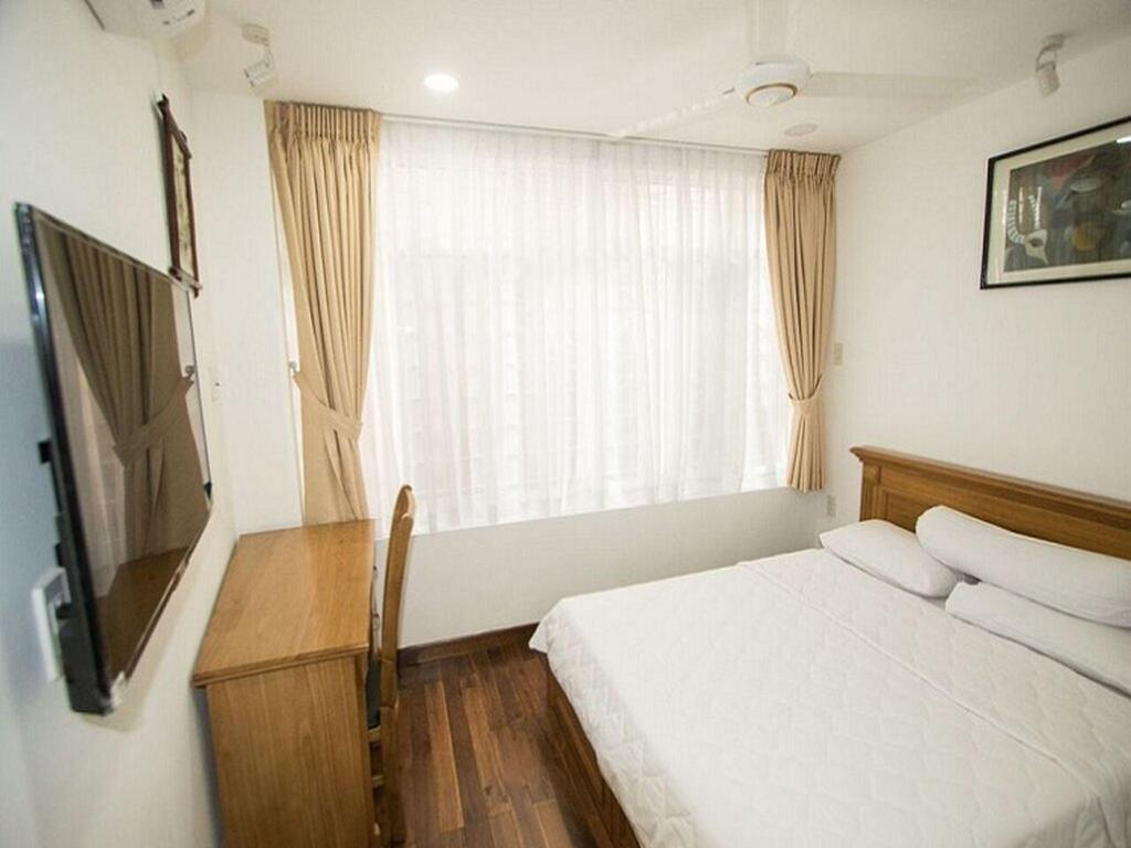 Kamar tidur Smiley Apartment 6-Luxury Two bedroom serviced apartment