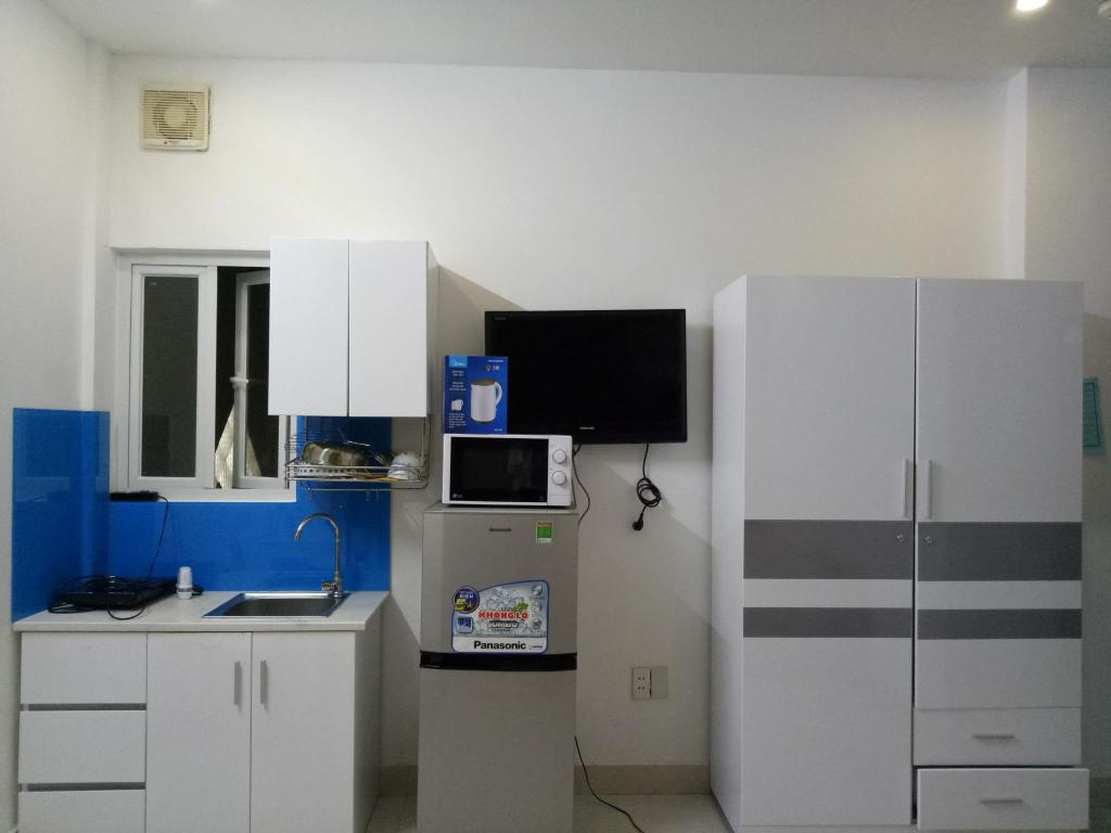 Dapur Smiley Apartment 8- R01 Seviced studio with window 1