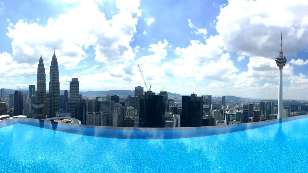 Interior view Platinum Suites Skypool in The Heart Of KL City