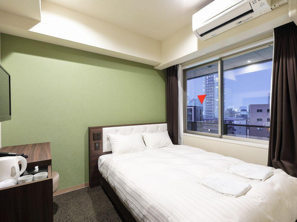 Standard Double - Non-Smoking - Room plan Welina Hotel Umeda