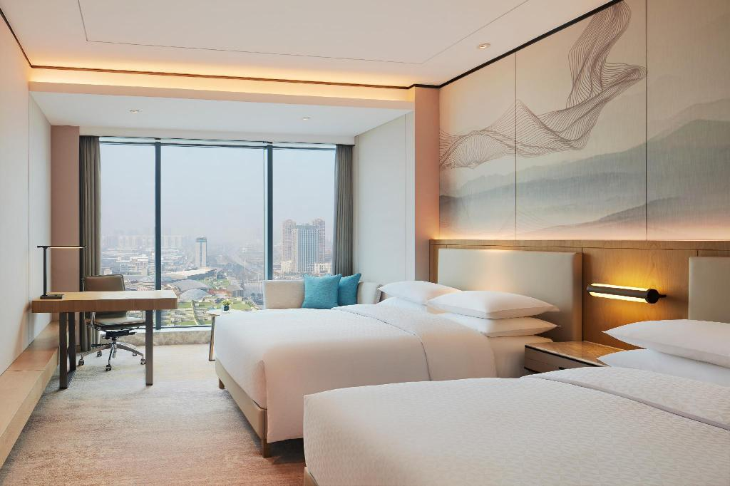 Traditional - Room plan Four Points by Sheraton Changsha Meixi Lake
