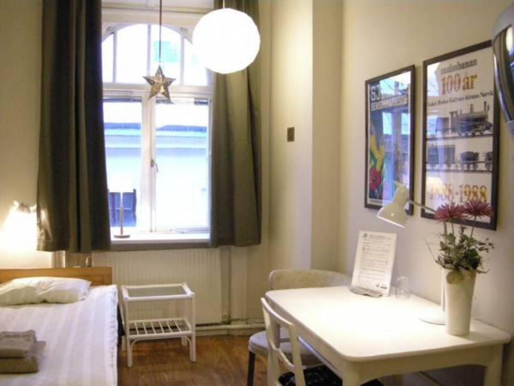 Single with Shared Bathroom - Guestroom Järnvägshotellet