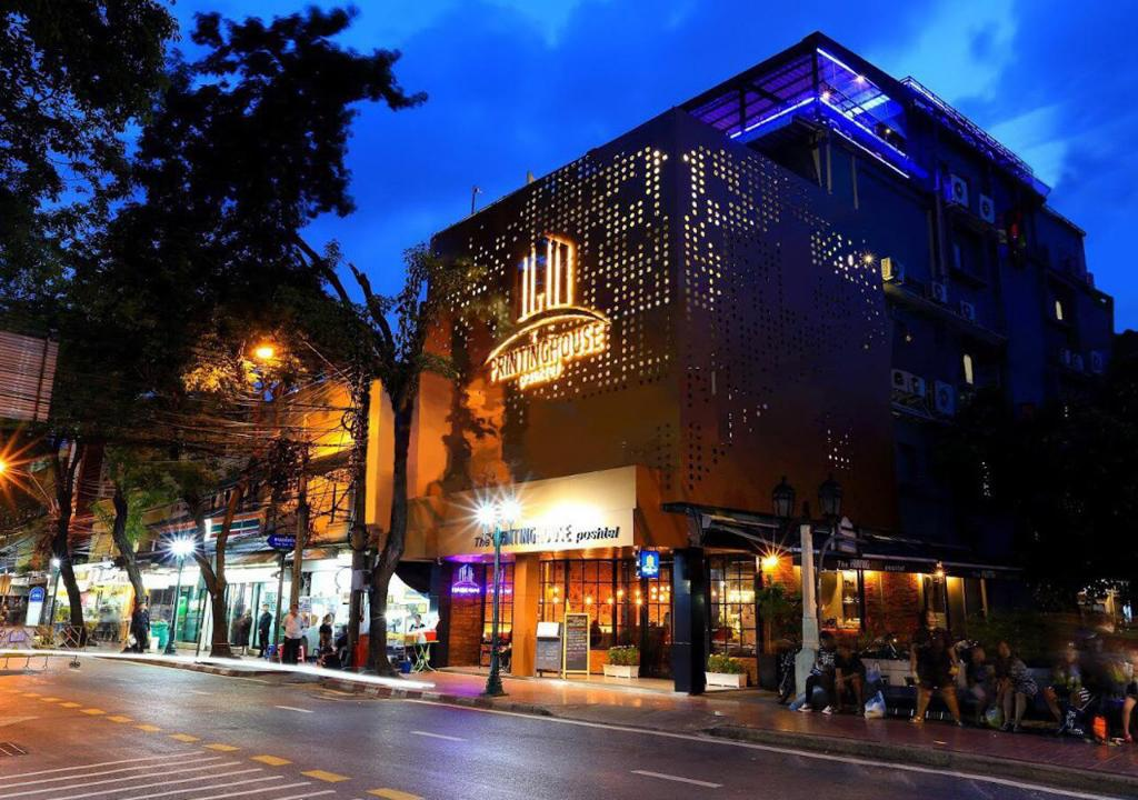 Exterior view The Printing House Poshtel Bangkok