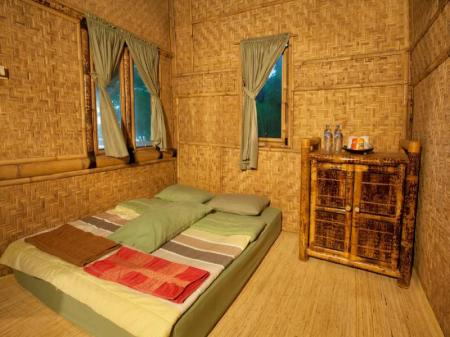 Standard Bamboo Cottage Bumbangku Beach Cottage