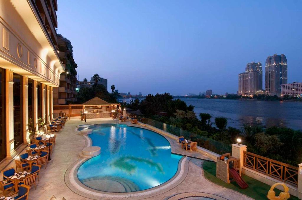 Swimming pool [outdoor] Hilton Cairo Zamalek Residence