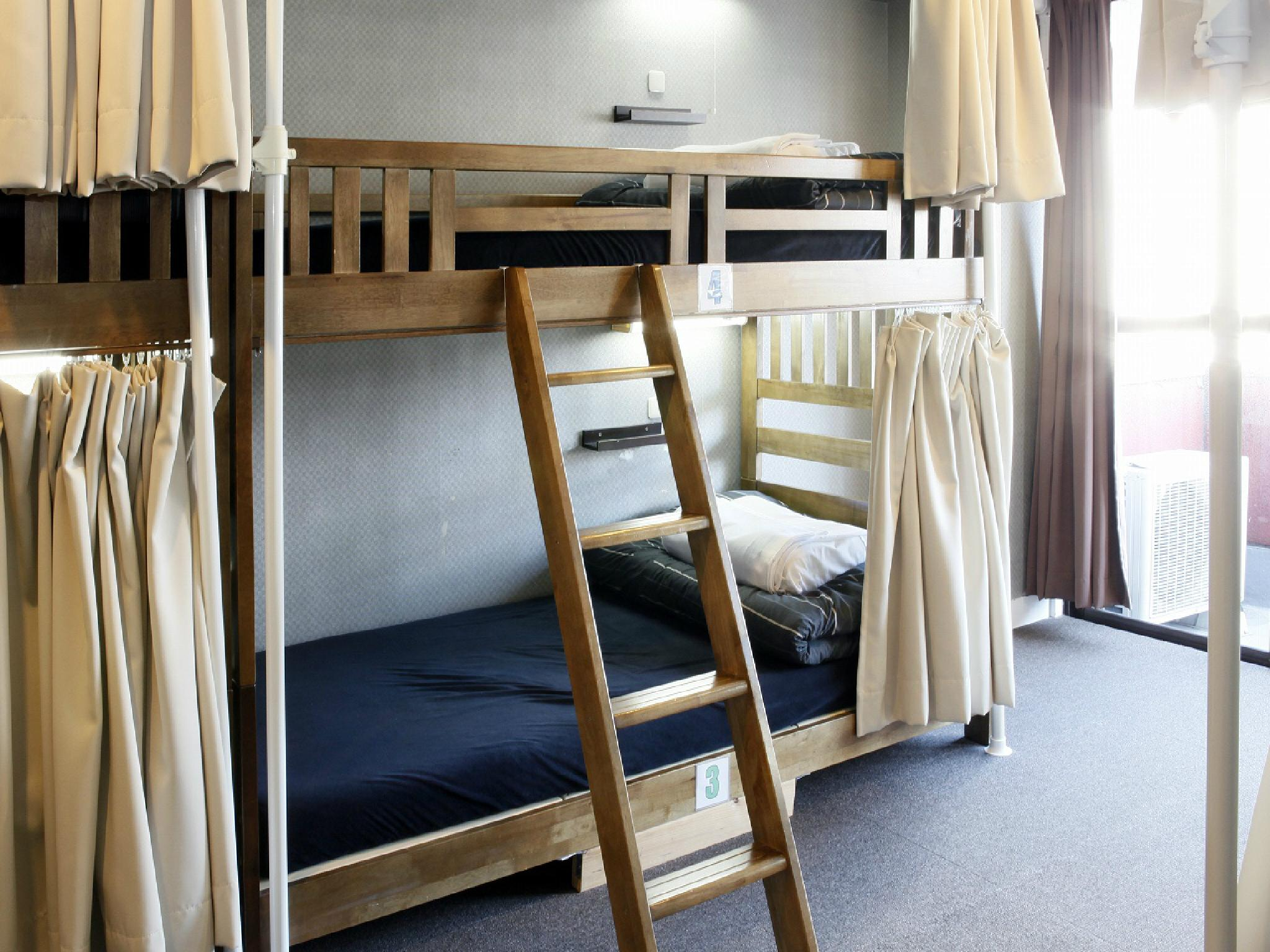 【2張床位】6人宿舍 - 需共用衛浴/男女混合 (2 People in 6-Bed Dormitory with Shared Bathroom - Mixed)