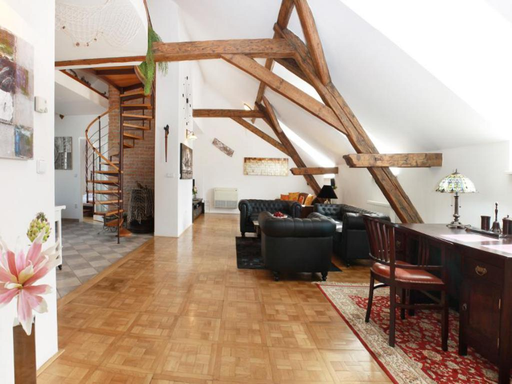 Interior view Grand Luxury Apartment Attic Hastalska