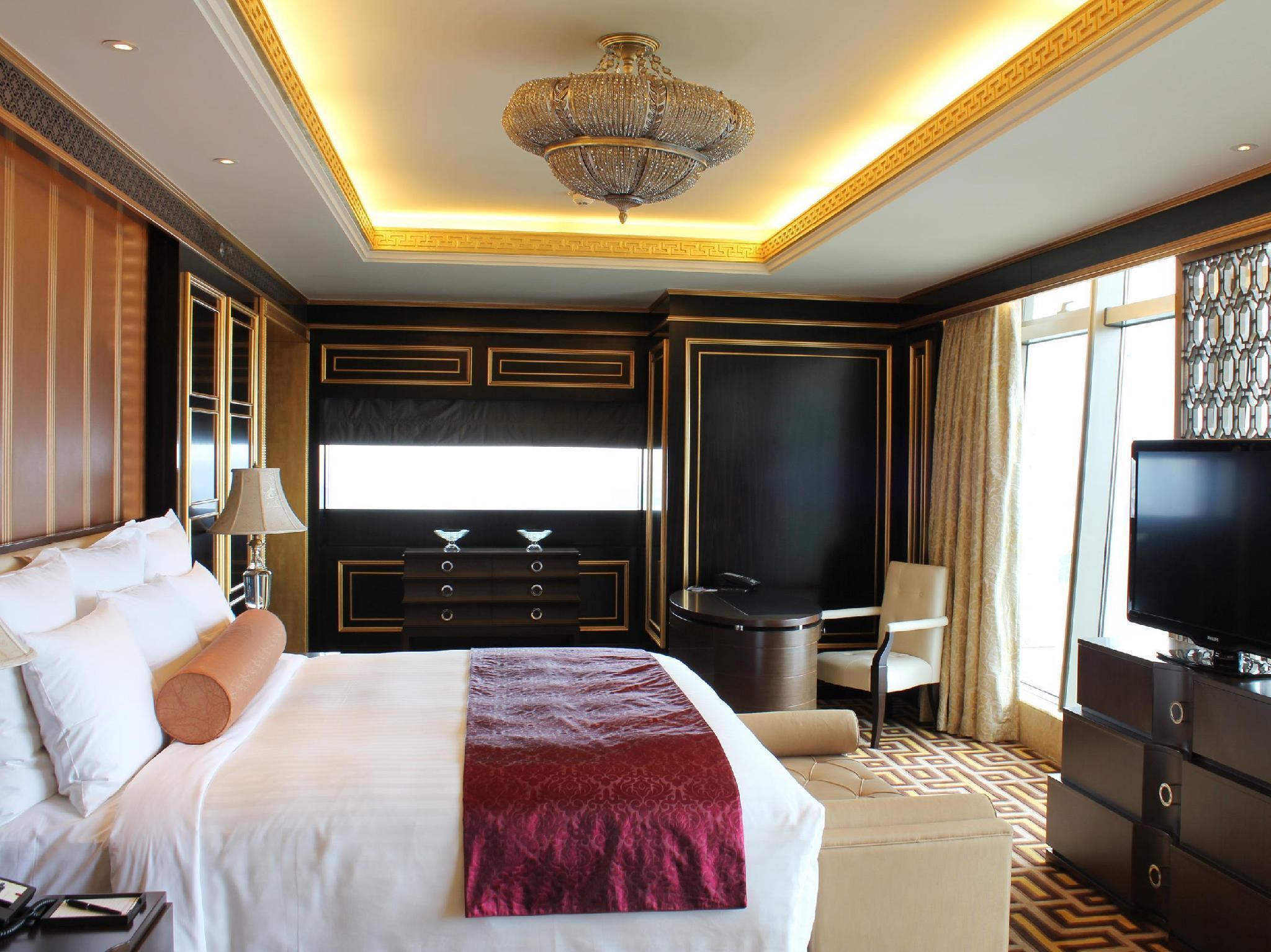 Suite presidencial executiva amb 1 llit tipus king amb accés a la sala (Presidential Suite lounge access 1 King)