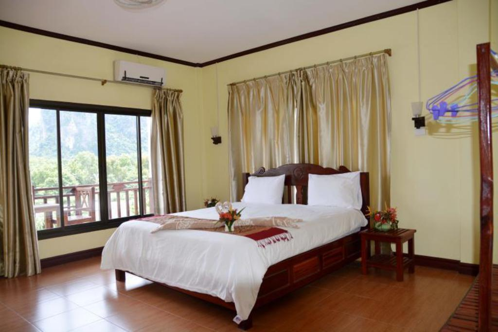 Superior Double Bed - Bed Vilayvong Hotel