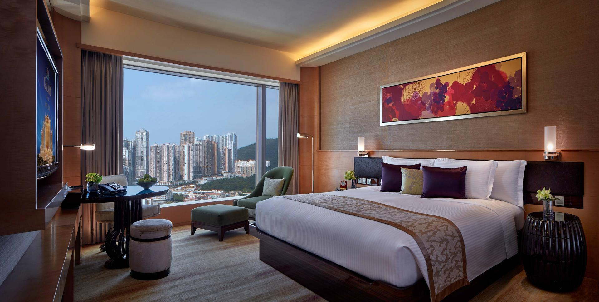 銀河城景房(特大床) (Galaxy City View King Room)