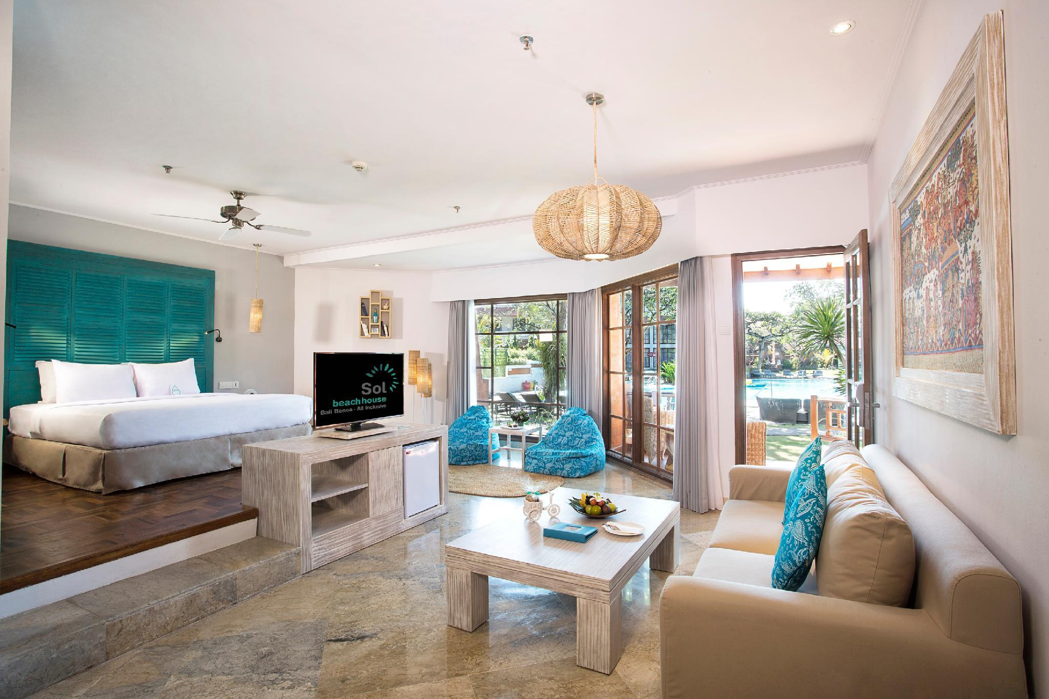 Полулюкс Xtra Beach House – с пакетом услуг All Inclusive Silver (Xtra Beach House Junior Suite All Inclusive Silver)