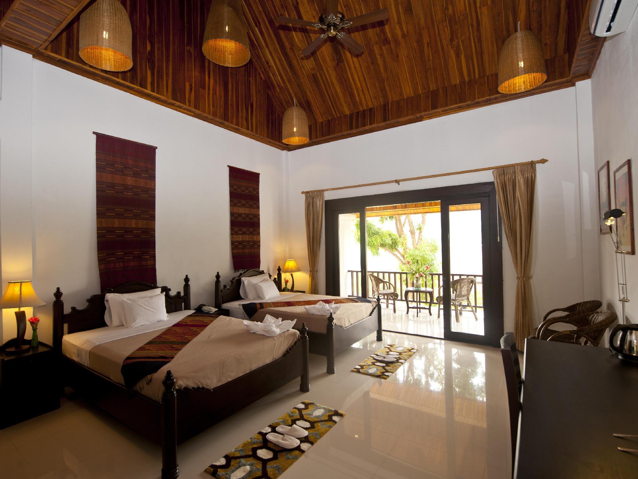 Deluxe Upper Floor   Guestroom Nam Ou Riverside Resort
