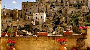 Matera Map And Hotels In Matera Area Matera