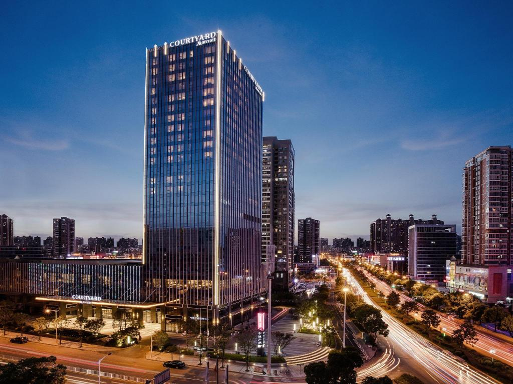 Vista exterior Courtyard by Marriott Changsha South