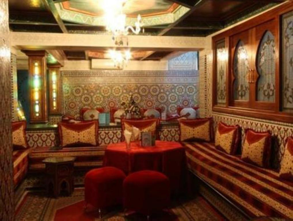 Vista interior Hotel Moroccan House