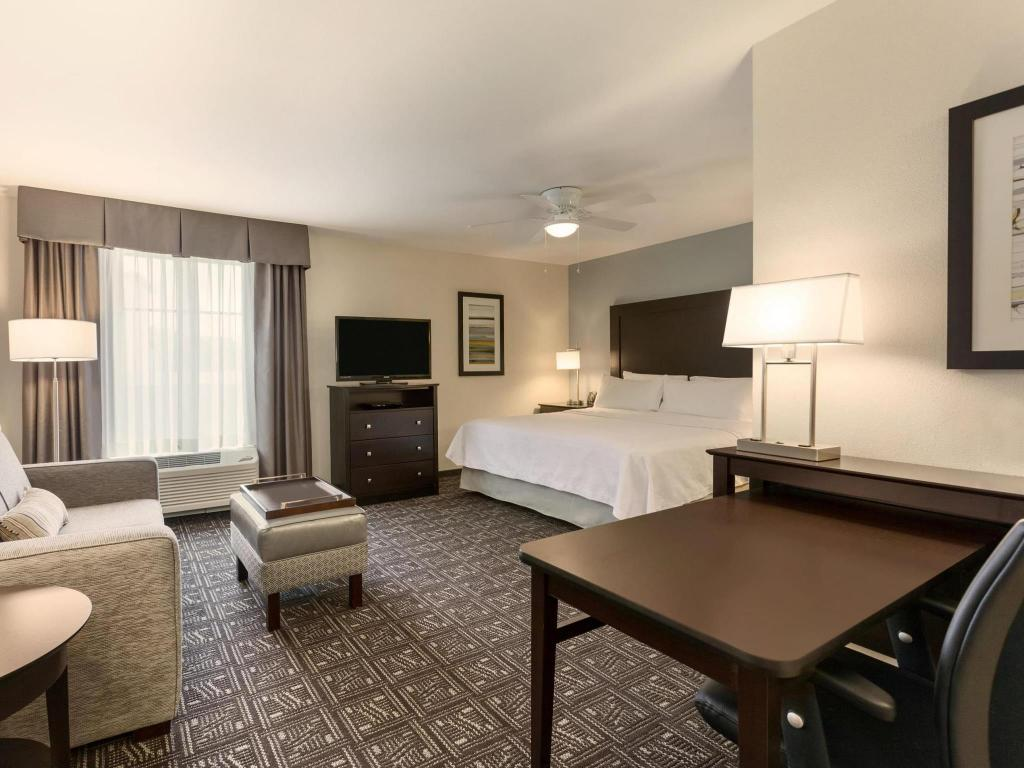 1 King Studio Suite Non Smoking - Guestroom Homewood Suites by Hilton Huntsville Downtown